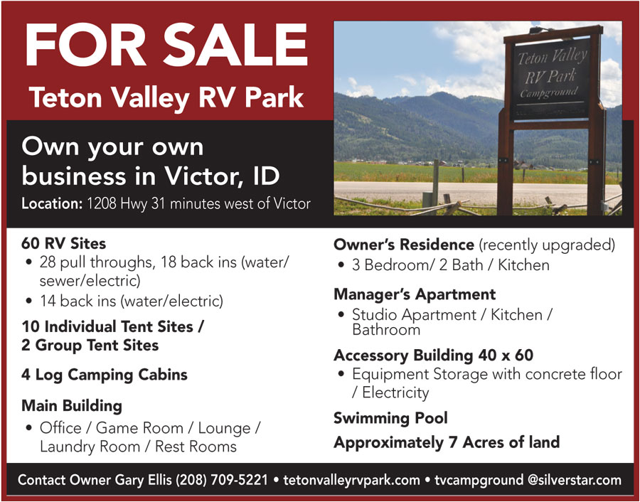 Ad Flyer for House Account from Teton Valley News